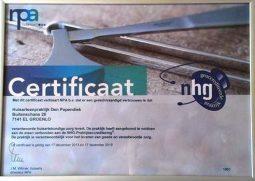 NHG-certificaat